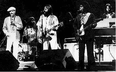 The Beach Boys & Elmo Peeler in concert