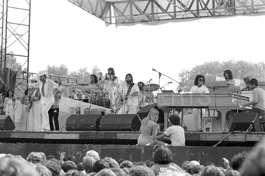 Elmo Peeler & The Beach Boys in concert